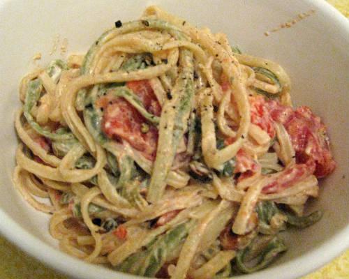 creamy basil tomato pasta - Creamy Basil and Tomato Pasta