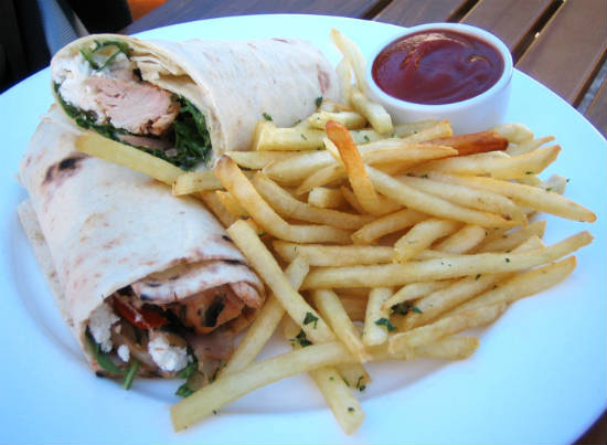 greek chicken wraps - Greek Style Chicken Wraps