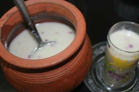 kambu koozh - கம்பு கூழ்