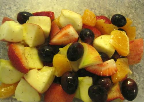 mixed fruits - Fruit Rice