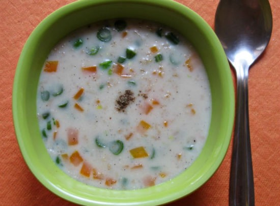 Oats Vegetable Soup