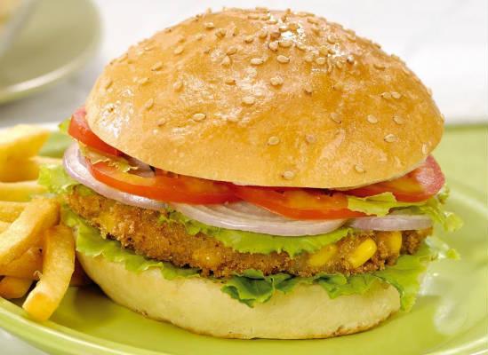 Indian style Paneer Burger