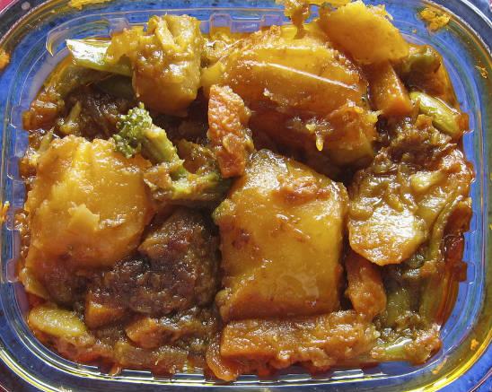 potato curry - நவாபி உருளைக்கிழங்கு கறி