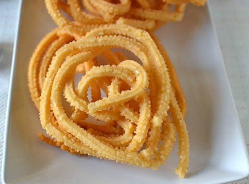 Potato Murukku