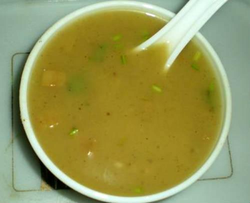 Vazhaithandu (Plaintain Stem) Soup