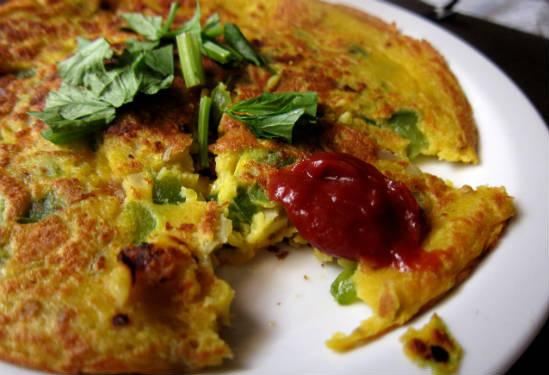 eggless omelette - Eggless Omelette