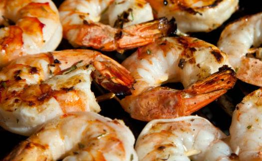 grilled shrimps - Barbecued Shrimp
