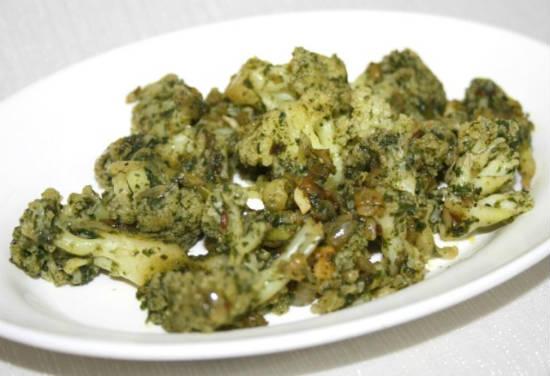 mint cauliflower - மின்ட் கோபி