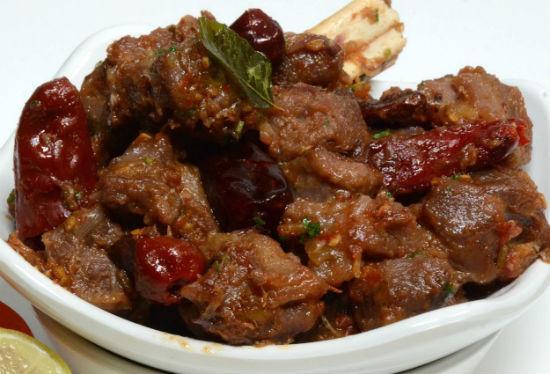 mutton uppu kari - Chettinad Mutton Uppu Kari