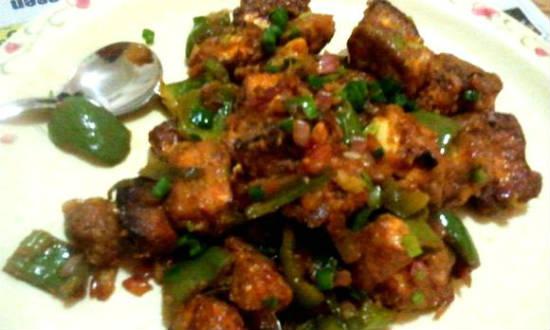 paneer garlic fry - பன்னீர் பூண்டு ஃப்ரை