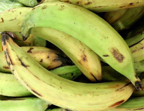 raw banana plantain - Vazhakkai Sambar