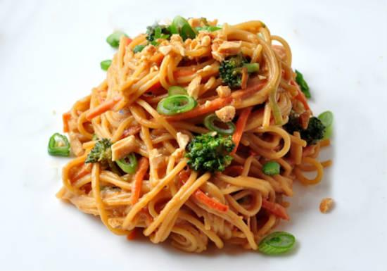 spicy peanut butter - Spicy Peanut Noodles