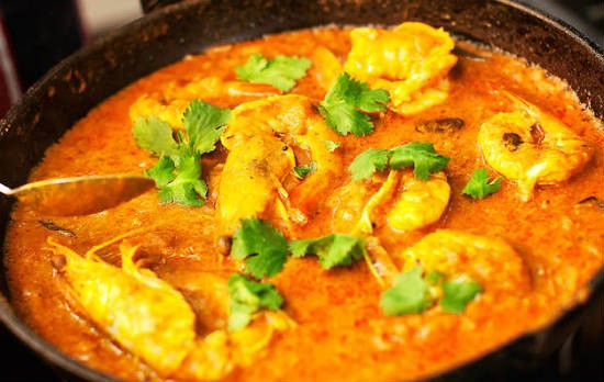 tamarind prawn curry - Tamarind Prawn Curry