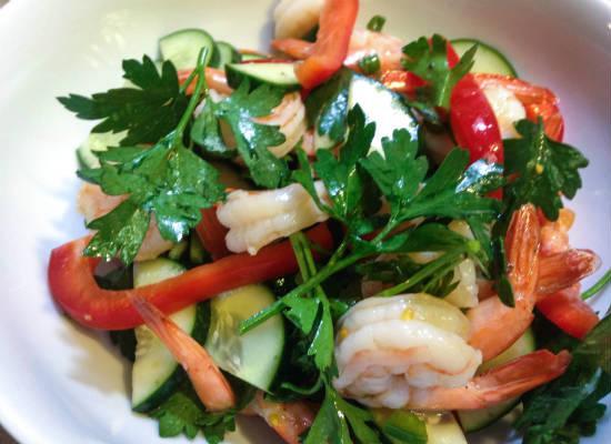 Tangy Shrimp Salad