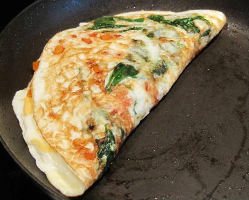 tomato egg white omelette - Tomato Egg White Omelette