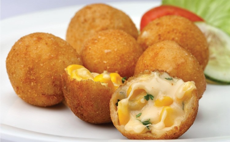 cheese cornballs - Cheese Corn Balls