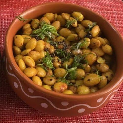 Mochai Sundal / Mochai Payaru Sundal / Butter Beans Sundal