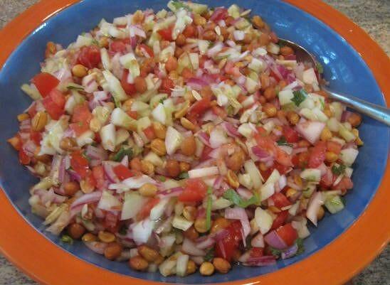 Vegetable Peanut Fruit Salad
