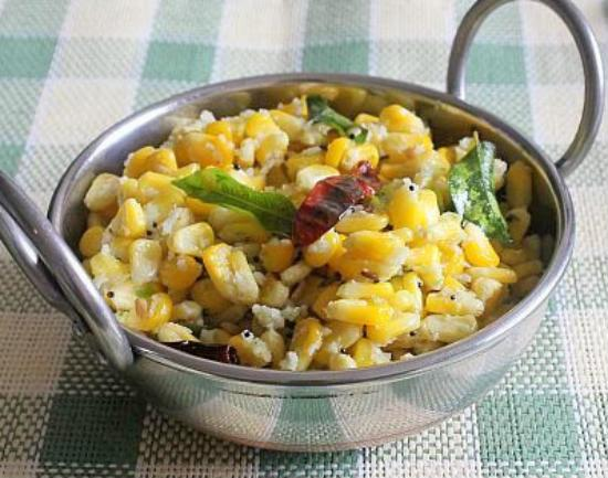 sweet corn sundal - Sweet Corn Sundal