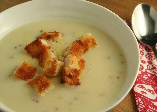cauliflower cheese soup - Cauliflower Cheese Soup