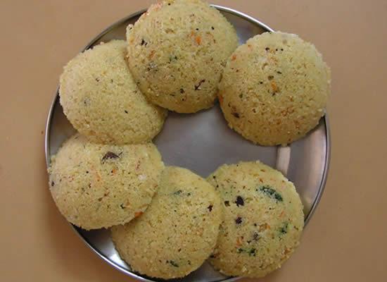 godhumai wheat rava idli - Godhumai (Wheat) Rava Idli