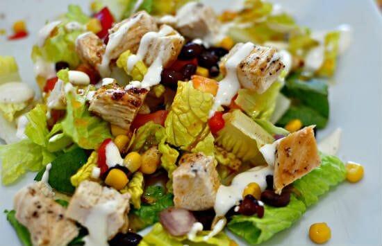 mexican chicken salad - Mexican Chicken Salad