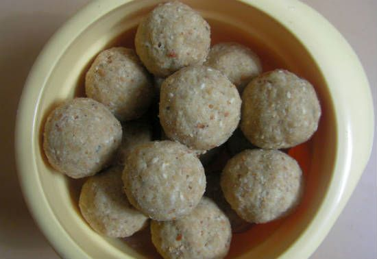 oats nuts ladoo - Oats Nuts Laddu