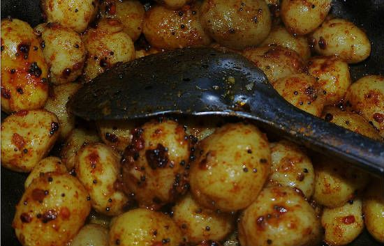 baby potato fry - Baby Potato Fry