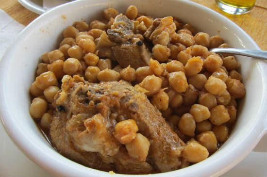 Spicy Lamb with Chickpeas
