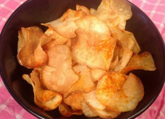 maravalli kilangu chips - Maravalli Kizhangu (Tapioca) Chips
