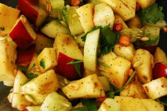 Peanut Pineapple Salad