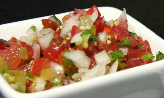 Tomato Capsicum Salsa