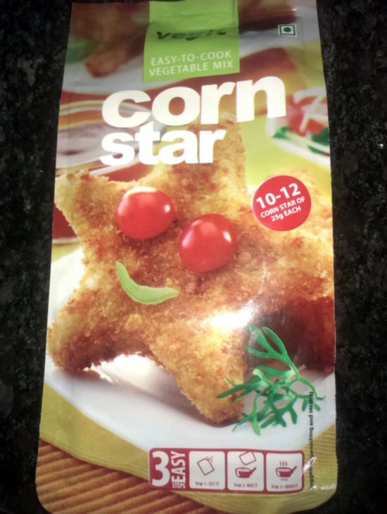 Vegit Corn Star - Vegit Instant Snack Mixes - Corn Star (Product Review)