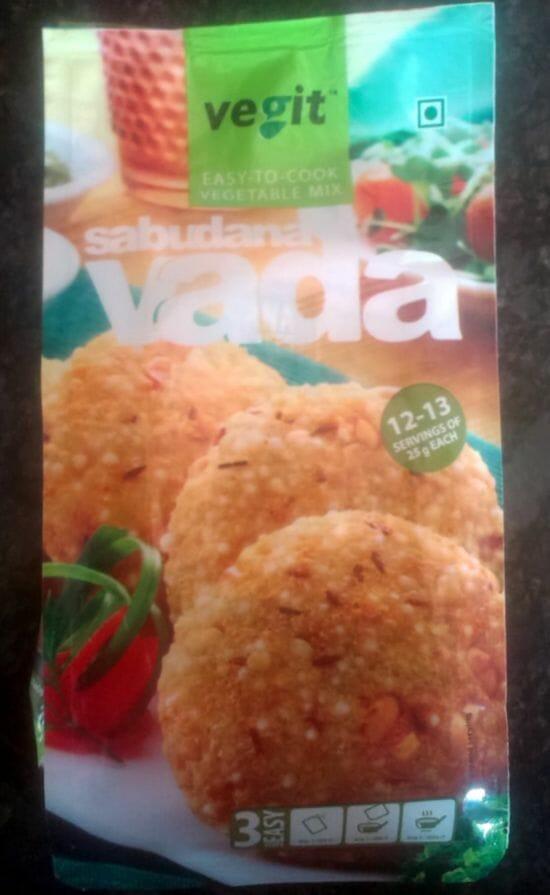 Vegit Sabudana vada - Vegit Instant Snack Mixes - Corn Star (Product Review)