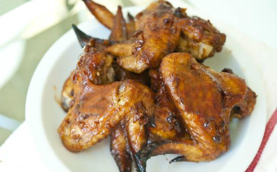 baked chicken wings - Baked Chicken Wings