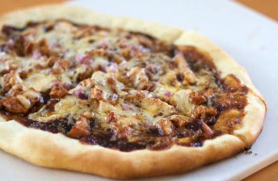bbq chicken pizza - BBQ Chicken Pizza