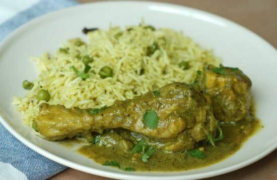 coriander chicken curry - Coriander Chicken Curry