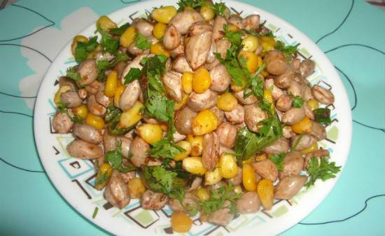 Peanut Corn Salad