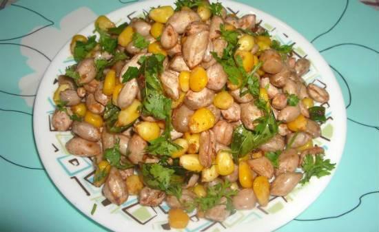 Peanut Corn Salad