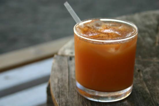 rum punch - Tropical Coconut Rum Punch