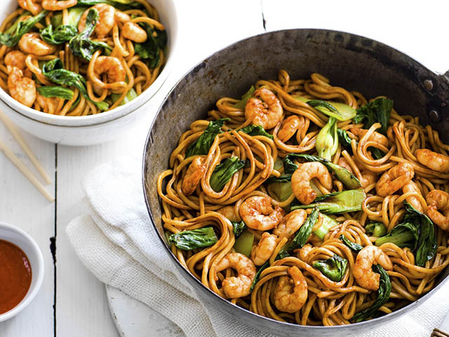 Thai Prawn Ginger Noodles - Thai Prawn and Ginger Noodles