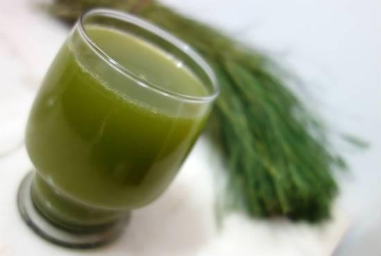 Arugampul Juice (Bermuda Grass Juice)