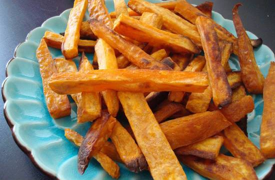 baked sweet potato fries - Baked Sweet Potato Fries