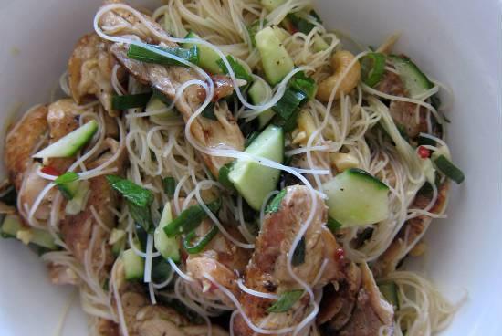 chicken noodle salad - Chicken Noodle Salad