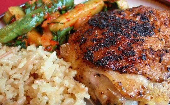 Chicken in Rice Wine Sauce