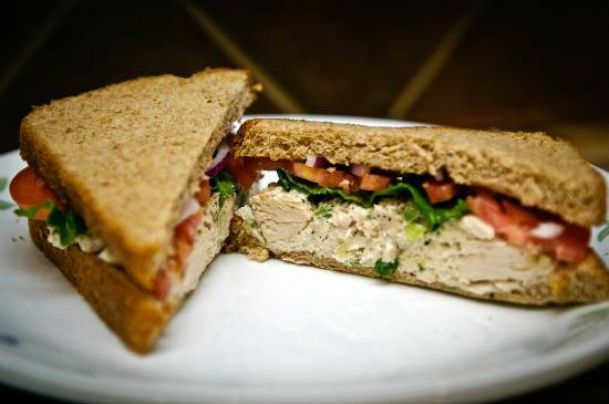 chicken salad sandwich - Chicken Salad Sandwich