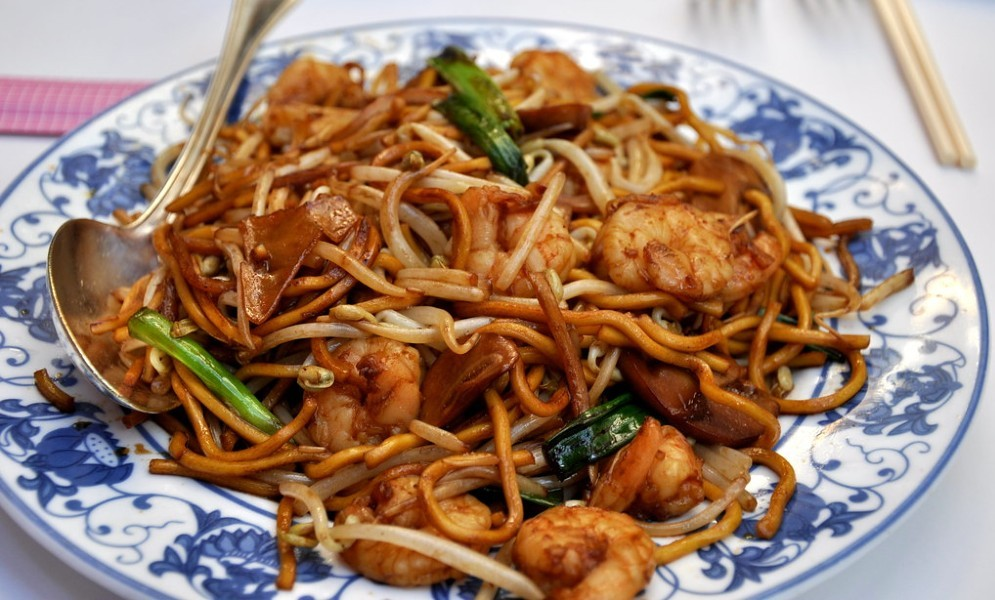 shrimp lo mein - Shrimp Lo Mein