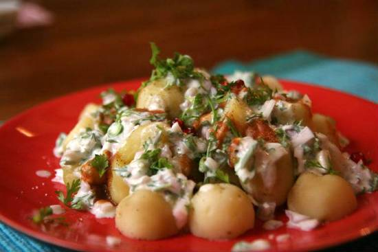 Spiced Baby Potato Salad