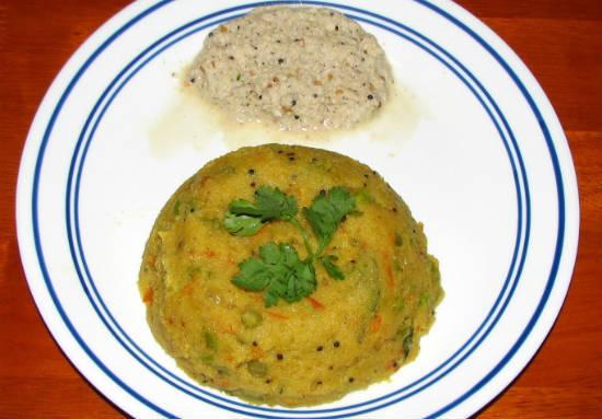 Tomato Rava Khichadi