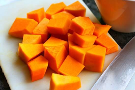 Yellow Pumpkin Pieces